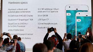 Neuer iPhone-Konkurrent: Google präsentiert Pixel