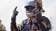 Formel 1 auf der Zielgeraden: Vettel siegt, rückt ran und drückt
