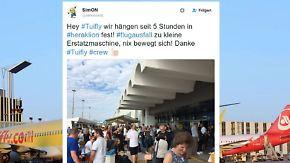 n-tv Netzreporter: Tuifly- und Air-Berlin-Kunden machen ihrem Ärger Luft