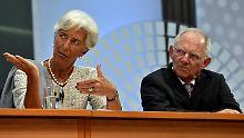 Einigung zu Griechenlandhilfen: IWF und Eurozone finden Kompromiss
