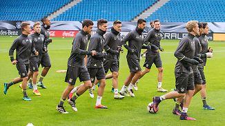 Khedira spielt, Gündogan auf der Bank: DFB-Elf gibt sich gegen Tschechien siegessicher