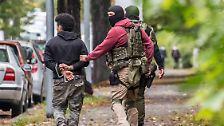 Terrorzelle in Sachsen: Der Großeinsatz von Chemnitz