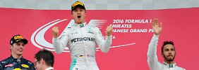 Die Formel-1-Lehren aus Japan: Hamilton braucht Feinde, Ferrari blamiert