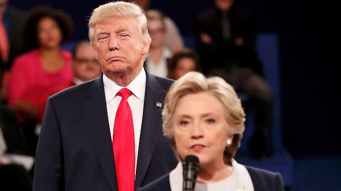 Kaum vorstellbar, aber am Ende sagten Clinton und Trump noch etwas Nettes über ihr jeweiliges Gegenüber.