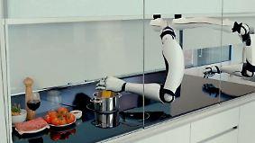 Noch nicht fehlerfrei: Kochroboter soll jedes Gericht der Welt brutzeln