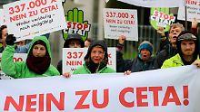 Hunderttausende klagen gegen den Freihandelsvertrag Ceta. Dabei ist die Globalisierung der Wohlstandsmotor der Welt.