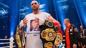 Wegen einer Depression verschiebt sich die Doping-Anhörung von Tyson Fury auf unbestimmte Zeit.