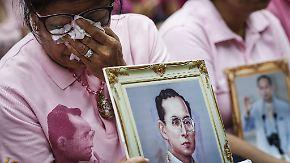 70 Jahre auf dem Thron: Thailands König stirbt nach langer Krankheit