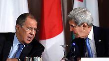 Syrien-Gespräche an mehreren Fronten: Wagen Russland und USA neuen Anlauf?