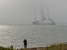 Ein russischer Milliardär lässt sich das Schiff ein kleines Vermögen kosten.