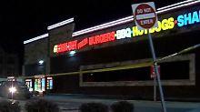 Vor diesem Restaurant in Lexington wurde Gay erschossen.