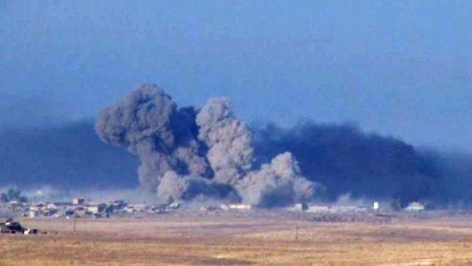 """Letzte IS-Hochburg im Irak: Militärallianz startet """"gewaltige Operation"""" zur Befreiung von Mossul"""