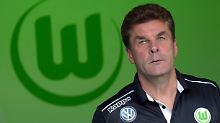 Reaktion auf Bundesliga-Talfahrt: VfL Wolfsburg entlässt Trainer Hecking