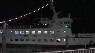 Rettung nach neun Stunden: Fähre sitzt mit 280 Passagieren an Bord vor Wangerooge fest