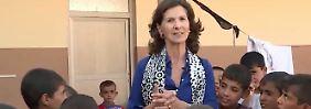 Antonia Rados vor Ort im Irak: Humanitäre Katastrophe durch Kampf um Mossul befürchtet