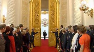 Pompös, protzig, Putin: Russlands Präsident weiß sich in Szene zu setzen