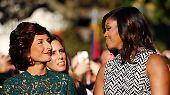 Zwei Wochen lang ist sie noch die First Lady der Vereinigten Staaten von Amerika.