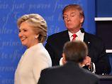 """""""Ich bekam Gänsehaut"""": Clinton erzählt von Gruselauftritt mit Trump"""