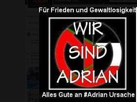 P. fordert Solidarität mit Adrian Ursache.