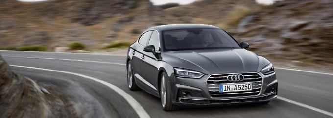 Jede Menge Zukunftstechnologie: Audi A5 Sportback erlaubt sich alles