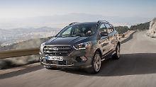 Aufgefrischt ins neue Jahr: Ford überarbeitet den Kuga