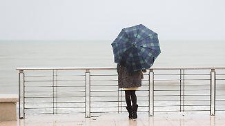 Lichtblick am Sonntag: Beim Wetter bleibt vorerst alles Grau in Grau