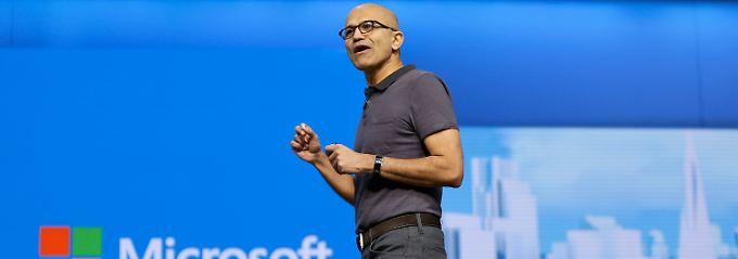Microsoft schafft die Wende: Nadella macht Gates glücklich