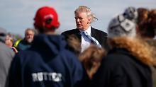 Wahlkampfauftritt in Gettysburg: Trump legt 100-Tage-Programm vor