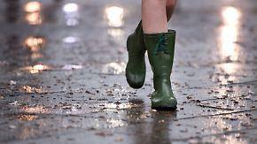 Wechselhafter Wochenstart: Regen breitet sich von Westen her aus