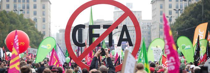 Unterzeichnung am Donnerstag?: EU hält Ceta-Rettung noch für möglich