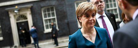 """""""Großes Brexit-Unglück"""": Sturgeon ist """"tief enttäuscht"""" von May"""