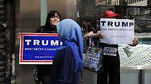 Vorfälle in New York: Muslimische Stadtmitarbeiterinnen attackiert