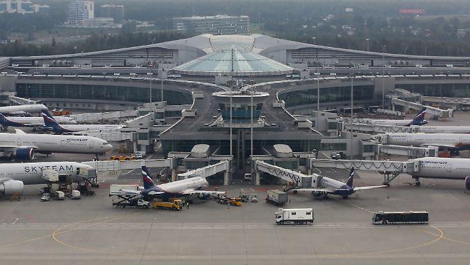 Am Moskauer Großflughafen Schermetjewo wird derzeit kräftig für die WM 2018 gebaut.