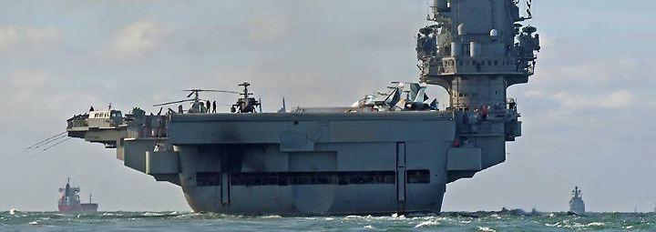 Seereise ins Kriegsgebiet: Die Fahrt der Admiral Kusnetsow