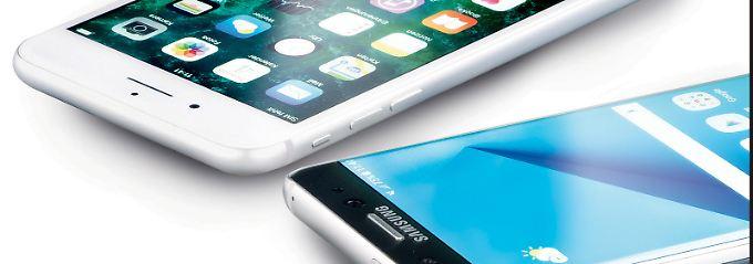 Huawei stark bei Warentest: Galaxy S7 besser als iPhone 7 Plus