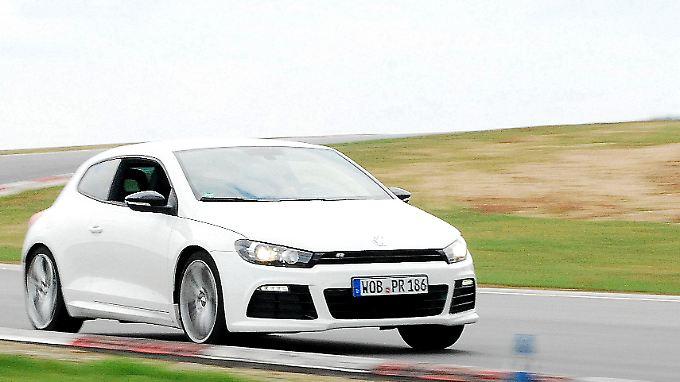 Mehr Sport fürs Volk: VW hat dem Scirocco ein R verpasst und ihn somit zur Sportskanone geadelt.