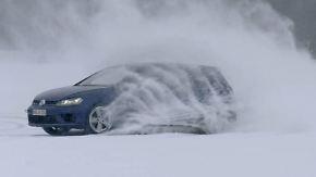 Intensivtraining in Lappland: Autofahrer beweisen Mut auf Eis und Schnee