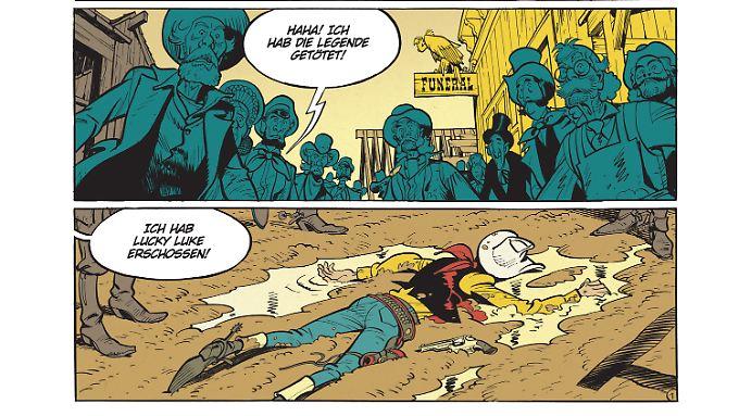 Lucky Luke liegt tot im Schlamm? Wie konnte es dazu kommen?
