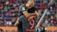 """""""Die beiden haben heute Abend noch ein Date."""" (Bayern-Boss Rummenigge witzelt über sein neues altes Traum-Duo """"Robbandowski"""".)"""