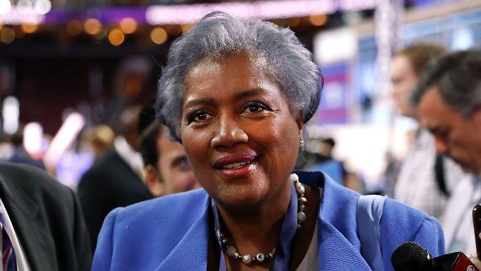 Donna Brazile leitet die Demokratische Partei seit Juli.