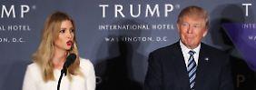 Umsichtig und besonnen - Ivanka Trump schlägt aus der Art.