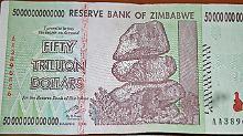 Trauma Hyperinflation: Eigene Währung macht Simbabwern Angst