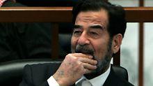 Saddam Hussein starb am 30.Dezember 2006 durch einen Strang.