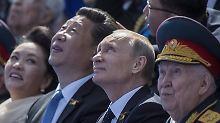 Xi Jinping und Wladimir Putin sind sich einig.