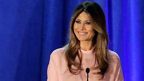 Obama mit vollem Einsatz für Hillary: Melania Trump wirbt um weibliche Wähler