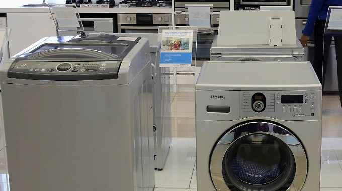 Waschmaschine bricht kiefer: samsung ruft millionen toplader zurück