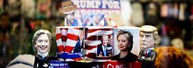 Wer zieht ins Weiße Haus?: Britische Wettquoten auf Trump brechen ein