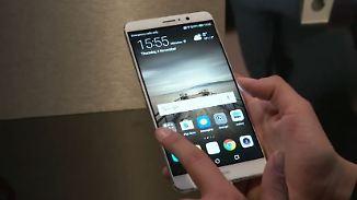 Kampfansage mit dem Mate 9: Huawei will Apple und Samsung abhängen