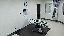 Eine Hinrichtungsstätte im kalifornischen Gefängnis von St. Quentin. Die Todesstrafe bleibt in dem Bundesstaat erhalten.