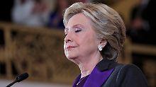Zurück zur demokratischen Normalität: Clinton zeigt spät Größe